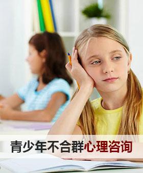 青少年不合群心理咨询